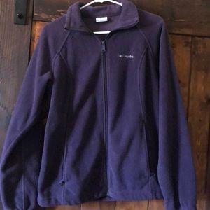 Women's Columbia Zippered Fleece Sweatshirt